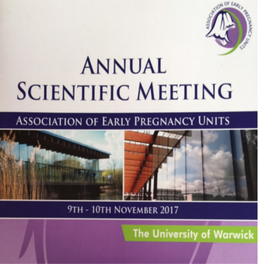 Association of Early Pregnancy Units Conference